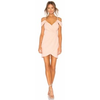 スーパーダウン superdown レディース ワンピース ワンピース・ドレス Brenda Draped Dress Blush