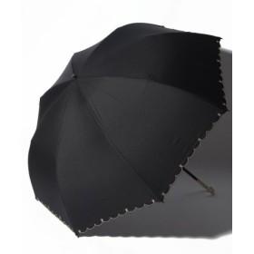 (pink trick/ピンクトリック)【晴雨兼用傘】プチスターポイント折りたたみ傘 (UVカット&軽量)/レディース ブラック