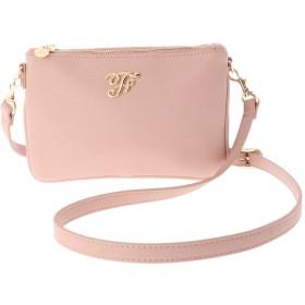 メゾンドフルール Maison de FLEUR ミニショルダーバッグ (Pink)