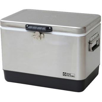 テントファクトリー メタルクーラーステンレスボックス M TF-MBS29 (1個)