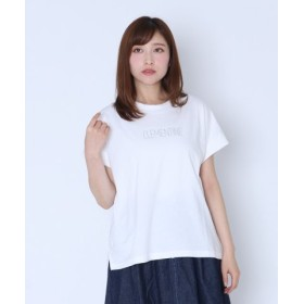 (LASUD/LASUD)[RADIATE]CLEMENTINE ロゴTシャツ (New Color)/レディース シロP