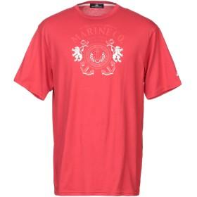 《セール開催中》ARMATA DI MARE メンズ T シャツ レッド 56 コットン 100%
