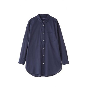 HUMAN WOMAN ヒューマンウーマン テンセルスイスコットンローンシャツ