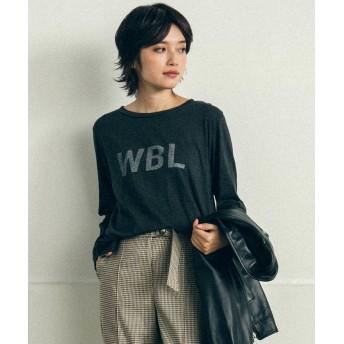 リップスター WBLロゴロングTシャツ レディース ライトグレー M 【LIPSTAR】