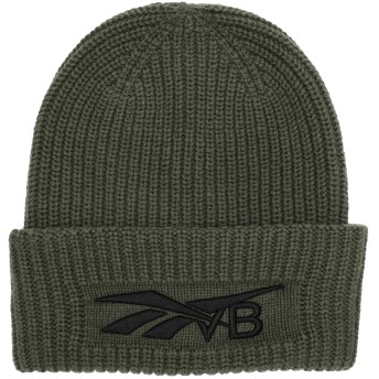 《期間限定セール開催中!》REEBOK x VICTORIA BECKHAM レディース 帽子 ミリタリーグリーン one size ウール 90% / カシミヤ 10% RBK VB BEANIE