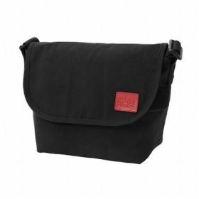 (Manhattan Portage/マンハッタン ポーテージ)CORDURA(R) Waxed Nylon Fabric Collection Casual Messenger Bag JR/ユニセックス Black
