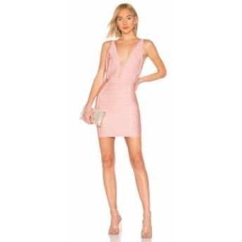 バイ ザ ウェイ by the way. レディース ワンピース ワンピース・ドレス Alana Bandage Mini Dress Mauve