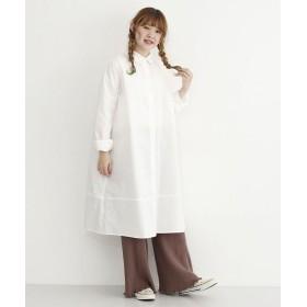 メルロー 3WAYシャツワンピース レディース オフホワイト FREE 【merlot】