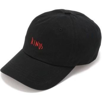 エルエイチピー VIER ANTWERP/ヴィーア・アントワープ/RINUS LOGO CAP メンズ BLACK F 【LHP】