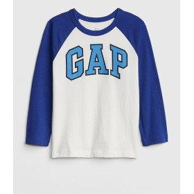 Gap GapロゴラグランTシャツ (幼児)