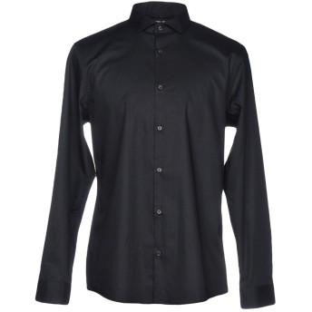 《セール開催中》MICHAEL KORS MENS メンズ シャツ ブラック XS コットン 96% / ポリウレタン 4%