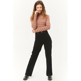 パンツ・ズボン全般 - FOREVER 21 【WOMEN】 コーデュロイハイウエストパンツ