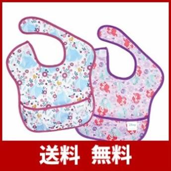 Bumkins(バンキンス)  ディズニー ベビー スーパービブ(防水ビブ) 6~24ヶ月 2枚組 (プリンセス) [並行輸入品]