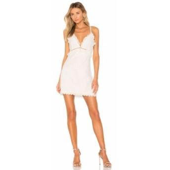 エヌビーディー NBD レディース ワンピース ワンピース・ドレス Mariposa Mini Dress Ivory