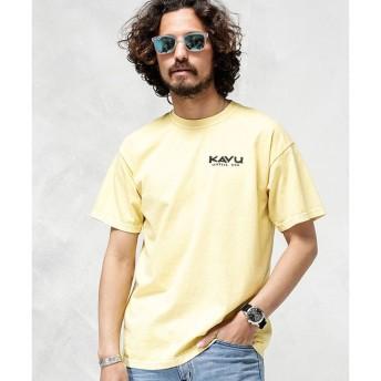 【ナノ・ユニバース/nano・universe】 KAVU:別注FRUIT OF THE LOOM ピグメントTシャツ