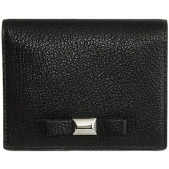 (ミュウミュウ) MIUMIU 財布 2折り財布 リボン 山羊革 コンパクト 5MV204 NERO(ブラック) 【アウトレット】[並行輸入品]