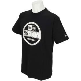 (ニューエラ) NEW ERA Tシャツ VISOR STICKER BASIC ブラック L