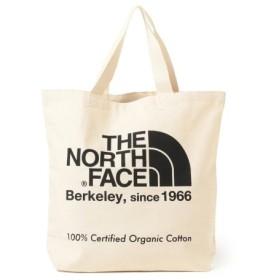 (BEAMS MEN/ビームス メン)THE NORTH FACE/オーガニックコットン トートバッグ/メンズ ナチュラルXブラック