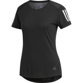 adidas アディダス オウン ザ ラン Tシャツ W FRQ07 BLK