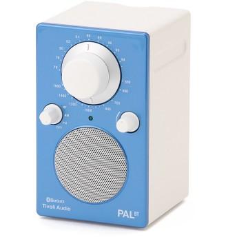 Tivoli Audio チボリオーディオ / PAL BT Glossy Blue (Bluetoothワイヤレス技術搭載ポータブル耐候性ラジオ・スピーカー) オーディオ機器,ブルー