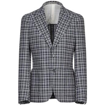 《セール開催中》CC COLLECTION CORNELIANI メンズ テーラードジャケット ダークブルー 48 バージンウール 51% / コットン 30% / ナイロン 19%