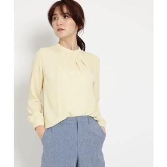 INDIVI / インディヴィ [S]タックハイネックシャツ