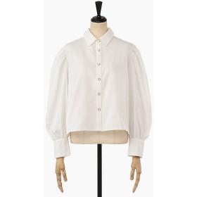 <sister jane> Shimmer Back Pleat Shirt 【三越・伊勢丹/公式】