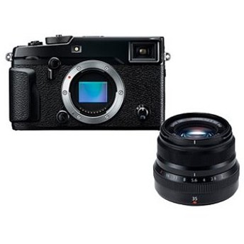 FUJIFILM/フジフイルム FUJIFILM X-Pro2 ボディ(ブラック)+XF35mmF2 R WR B(ブラック) レンズセット 【xpro2set】
