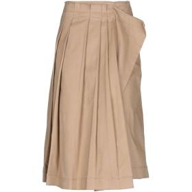 《期間限定セール開催中!》CEDRIC CHARLIER レディース 7分丈スカート サンド 40 コットン 98% / 指定外繊維 2%