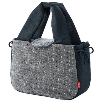 久留米織 和トートバッグ ■カラー:黒(かすり)