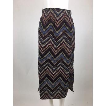 <156selectshop> コブラン織りスカート スモールサイズ パープル【三越・伊勢丹/公式】