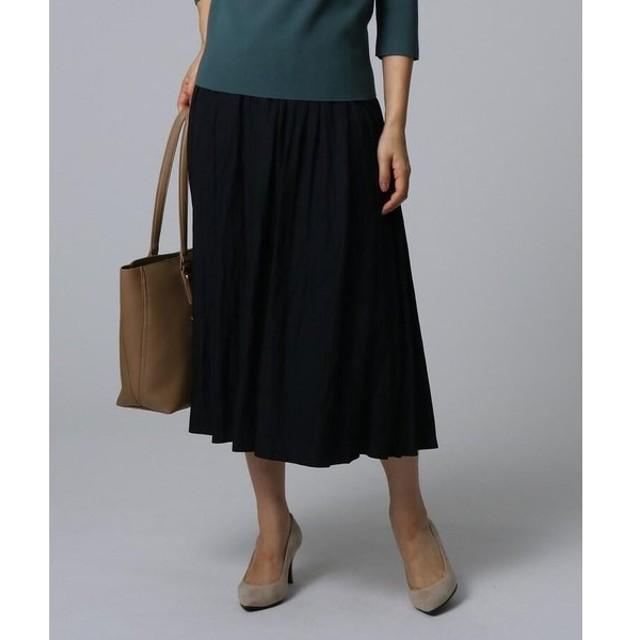 UNTITLED / アンタイトル 【洗える】ヴィンテージテイストスカート
