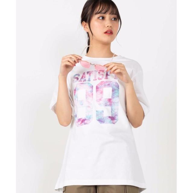 【23%OFF】 ウィゴー WEGO/ホワイトバラエティプリントTシャツ ユニセックス パターン7 M 【WEGO】 【セール開催中】