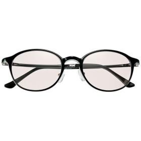 軽量柔軟サングラス(ウェリントン)美活計画 - セシール ■カラー:ブラック