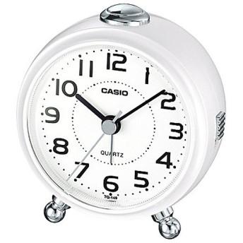 目覚まし時計 パールホワイト CASIO (カシオ) TQ-149-7JF