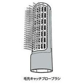 Panasonic/パナソニック  くるくるドライヤー用毛先キャッチブローブラシ(白)   EHKA20WH7617