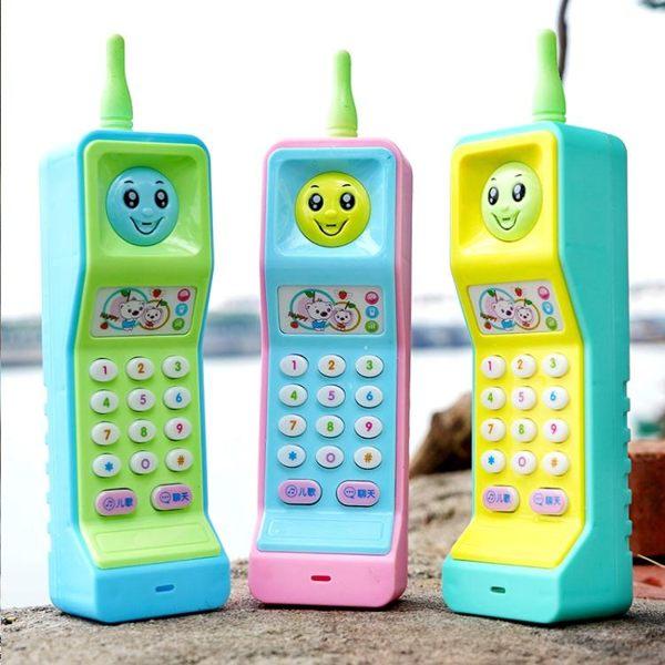大哥大玩具手機兒童益智早教玩具電話寶寶啟蒙學習音樂1-3歲玩具 夢幻衣都