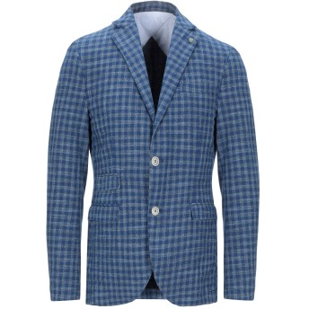 《期間限定セール開催中!》AT.P.CO メンズ テーラードジャケット ブルー 48 コットン 100%