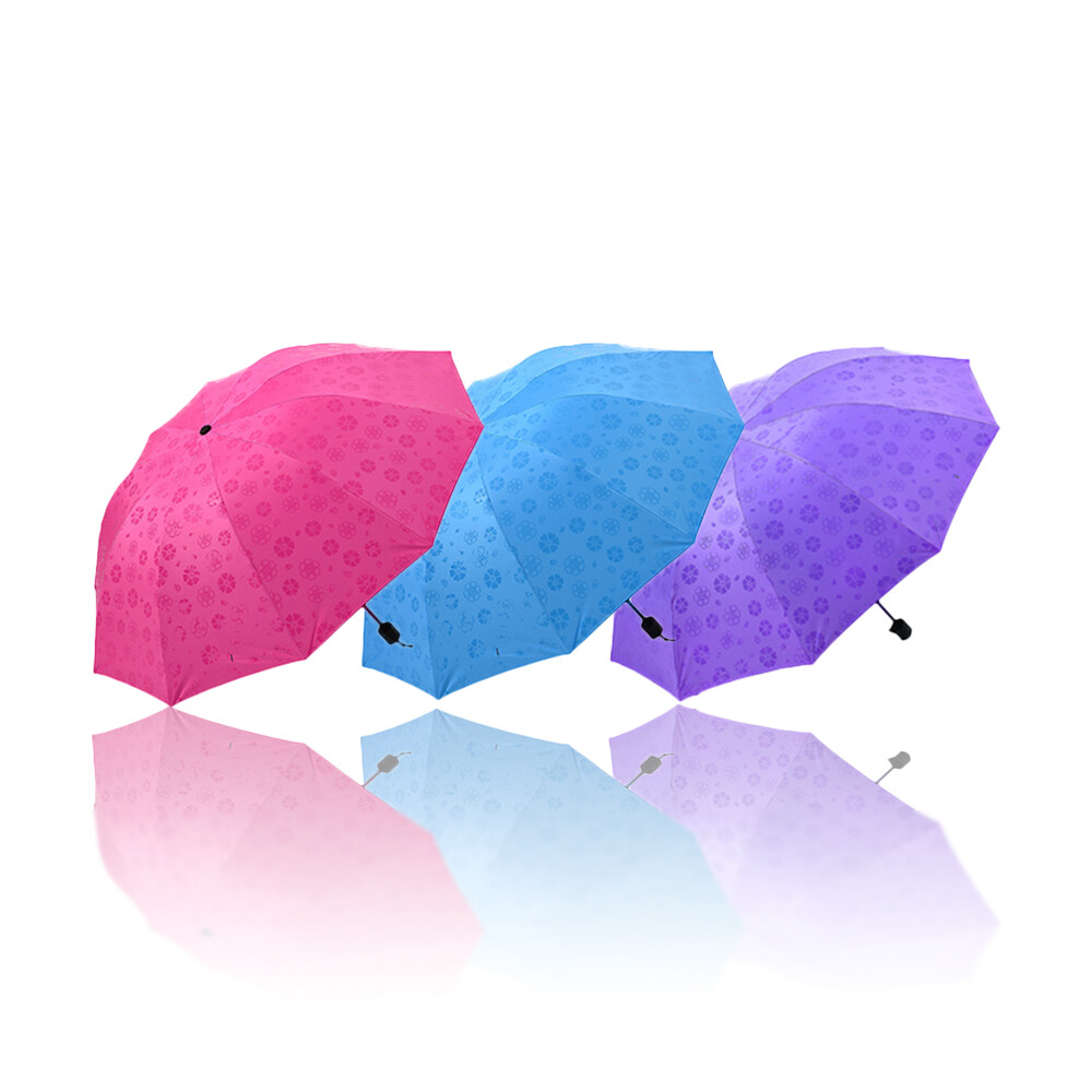 (雨傘)遇水見花魔術傘