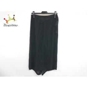 トリココムデギャルソン ロングスカート レディース 美品 黒 シースルー/変形デザイン 新着 20190819