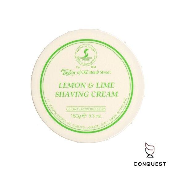【 CONQUEST 】英國 Taylor of Old Bond Street 檸檬萊姆刮鬍膏 刮鬍皂 刮鬍泡 泰勒