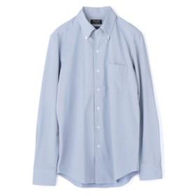 (Men's Bigi/メンズビギ)フィールドセンサー ジャージービジネスシャツ/メンズ サックスブルー