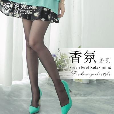 蒂巴蕾 香氛系列 彈性絲襪-3入組-薰衣草-黑色-3入組