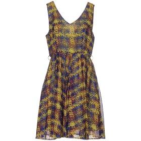 《期間限定 セール開催中》DARLING London レディース ミニワンピース&ドレス ビタミングリーン L ポリエステル 100%