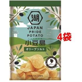 湖池屋 JAPAN PRIDE POTATO オリーブソルト ( 60g4袋セット )/ 湖池屋(コイケヤ)