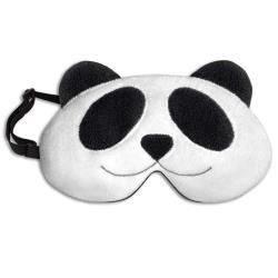 德國Leschi萊思綺 舒緩疲勞熱敷/冷敷眼罩-熊貓造型
