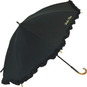 ドルチェビータ フリル晴雨兼用手開き日傘 DR11E