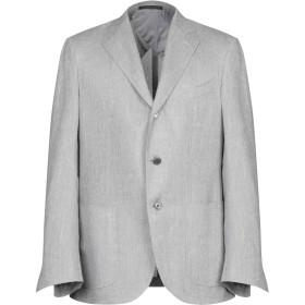 《期間限定セール開催中!》CORNELIANI メンズ テーラードジャケット グレー 50 バージンウール 39% / 麻 36% / シルク 25%