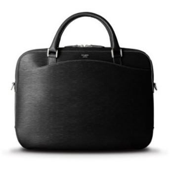 (Bag & Luggage SELECTION/カバンのセレクション)ペッレモルビダ キャピターノ ブリーフケース ビジネスバッグ 型押しレザー 革 メンズ B4 PELLE MORBIDA ca202/メンズ ブラック 送料無料