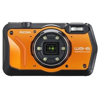 RICOH/リコー WG-6(オレンジ) 防水コンパクトデジタルカメラ